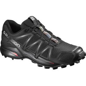 purchase cheap dced4 63fff Salomon M s Speedcross 4 Shoes Black Black Black Metallic